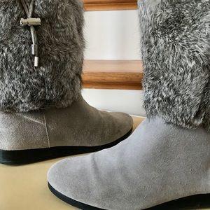 Michael Kors Lizzie Suede Boot